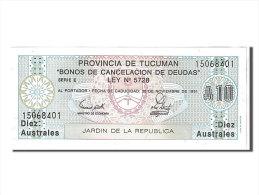 [#107604] Argentine, 1 Austral Type Province De Tucuman - Argentine