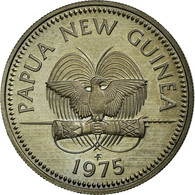 Monnaie, Papua New Guinea, 10 Toea, 1975, SPL+, Copper-nickel, KM:4 - Papouasie-Nouvelle-Guinée