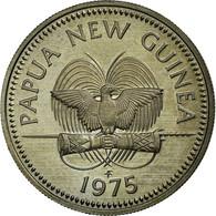 Monnaie, Papua New Guinea, 10 Toea, 1975, SPL+, Copper-nickel, KM:4 - Papoea-Nieuw-Guinea