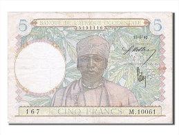 [#254561] Afrique Occidentale, 5 Francs, Type 1941-1943 - Banconote