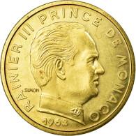 Monnaie, Monaco, 50 Centimes, 1962, SUP, Cupro-Aluminium, Gadoury:148 - Monaco