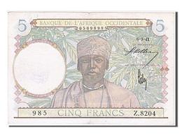 [#254562] Afrique Occidentale, 5 Francs, Type 1941-1943 - Altri – Africa