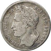 Monnaie, Belgique, Leopold I, 1/4 Franc, 1835, TB+, Argent, KM:8 - 1831-1865: Léopold I