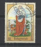 AUSTRIA 2009 - HOLY LEOPOLD - USED OBLITERE GESTEMPELT USADO - 1945-.... 2ème République