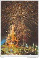 DISNEY - DISNEYLAND - Chateau, Feu D´artifice - D22 Div 297 - Disneyland
