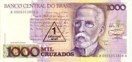BRESIL  1 Cruzado Novo/1 000 Cruzados  Emission De 1989   Pick 216 B      ***** BILLET  NEUF ***** - Brésil