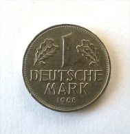 1 Mark 1968 F - Superbe - - [ 7] 1949-… : FRG - Fed. Rep. Germany