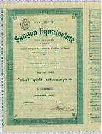 Sté De La Sangha Equatoriale, Congo Français - Afrique