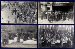 Halle An Der Saale.  Lot De 15 Cartes-photo : Soldats Allemands Et  Prisonniers  1914-18 - Halle (Saale)