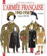 ARMEE FRANCAISE 1943 1956 UNIFORME INSIGNE GRADE TENUE COIFFURE TTA 148 REGLEMENT