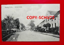 PENZIG Piensk O.L. Görlitz - Materialwarenhdlg. W. SCHRODA Personen - Schlesien