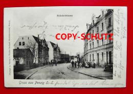 PENZIG Piensk O.L. Görlitz - Bahnhofstr. Personen - 1905 - Schlesien