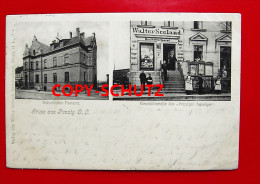 PENZIG Piensk O.L. Görlitz - Buchdruckerei W. SEELAND Personen - Post - 1902 - Schlesien