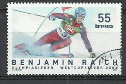 AUSTRIA 2006 - BENJAMIN RAICH - USED OBLITERE GESTEMPELT USADO - Ski