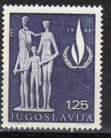 Yugoslavia,20 Years Of Declaration Of Human Rights 1968.,MNH - 1945-1992 Socialist Federal Republic Of Yugoslavia