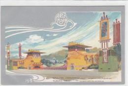 Cartolina Librty - Esposizione Di Arte Decortiva, Torino -1902    (110919) - Exposiciones