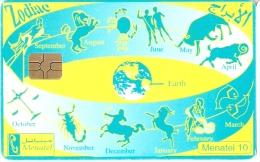 TARJETA DE EGIPTO DE EL ZODIACO (HOROSCOPOS) - Astronomùia