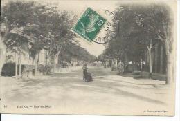 16 - BATNA - RUE DE SETIF ( Animées ) ALGERIE - Autres Villes