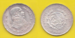 Messico  Un  Peso 1963 - Messico