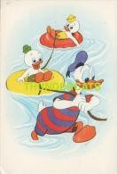 CPA ILLUSTRATEUR  DESSIN DONALD DUCK 1963 WALT DISNEY - Disney