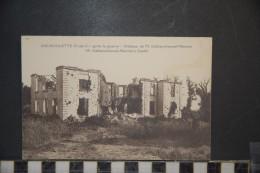 CP, Militaria, 62, Aix Noulette Apres La Guerre Chateau De M Deblanchonval Mercier Edition Fauchois Bethune - Guerre 1914-18