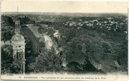 92 ROBINSON ++ Vue Générale De Ses Environs Prise Du Château De La Tour ++ - France