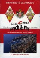 NEW MONACO BU 9 PIECES 2013 AVEC LA 2 EURO ONU TIRAGE 10 000 EXEMPLAIRES - Monaco