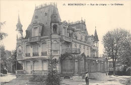 VAL D'OISE 95  MONTMORENCY   RUE DE JAIGNY  LE CHATEAU - Montmorency