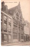 Ieper (Ypres)-+/-1910-Huis- Maison Biebuyck (Rue De Dixmude)-Style Gothique - Ieper