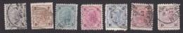 Austria, Scott #51-57, Used, Franz Josef, Issued 1890 - Usati