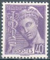 France - 1938/41 -Type Mercure 40 C. Violet - Y&T N°413 ** Neuf Luxe 1er Choix (gomme D'origine Intacte). - Ungebraucht