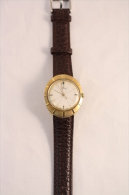 Vintage & Rare Wind Up Swiss Mechanism SPERA Gold Plated Gents Wristwatch - Relojes Ancianos