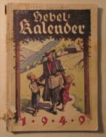 Hebel Kalender Für Das Jahr 1949 - Calendars