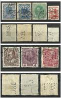 Austria Perfin - 1850-1918 Imperium