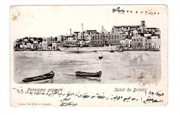 Italie Saluti Da Brindisi 1905 Panorama Generale - Brindisi