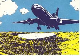 CP, TRANSPORTS, AVIATION, AVION, Vierge - Avions