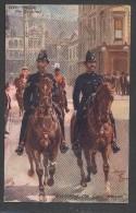 6417-CITY POLICE-THE GUILDHALL-LONDON-1911-FP - Polizia – Gendarmeria