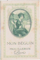 CARTE PARFUMEE ANCIENNE MON BEGUIN MOUILLERON PARIS - Perfume Cards