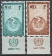 ONU New York 1956 - OMS - Con Appendice **      (g4560) - Ungebraucht
