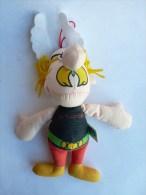 RARE PELUCHE ASTERIX Je T´adore DU PARC ASTERIX 1991 UDERZO GOSCINNY - Asterix & Obelix