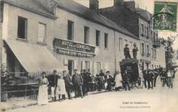 SAINT VALERY SUR SOMME .  HOTEL DU COMMERCE. - Saint Valery Sur Somme