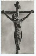 """@ CPSM PERPIGNAN, LE """" DEVOS CHRIST """" DE LA CHAPELLE CATALANE, ( CHRIST EN BOIS SCULPTE ), PYRENEES ORIENTALES 66 - Perpignan"""