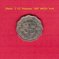 GHANA   2 1/2  PESEWAS  1967  (KM # 14) - Ghana