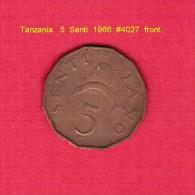 TANZANIA   5  SENTI  1966 (KM # 1) - Tanzanie