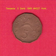 TANZANIA   5  SENTI  1966 (KM # 1) - Tanzania
