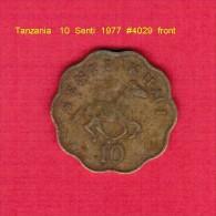 TANZANIA   10  SENTI  1975 (KM # 11) - Tanzanie