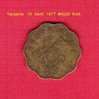 TANZANIA   10  SENTI  1975 (KM # 11) - Tanzania
