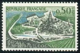 France N° 1314 ** Site - Cognac - Pont, Rivière - France
