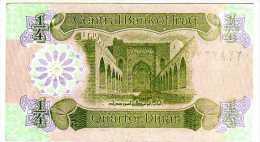 * IRAQ - 1993 -   1/4 Dinar -  P. 77 - UNC Billete Banknote - Iraq