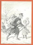 MOL2/526, Carte Double, Facteur, Bel Affranchissement Aussi Avec Facteur , Suisse, Schweiz - Post